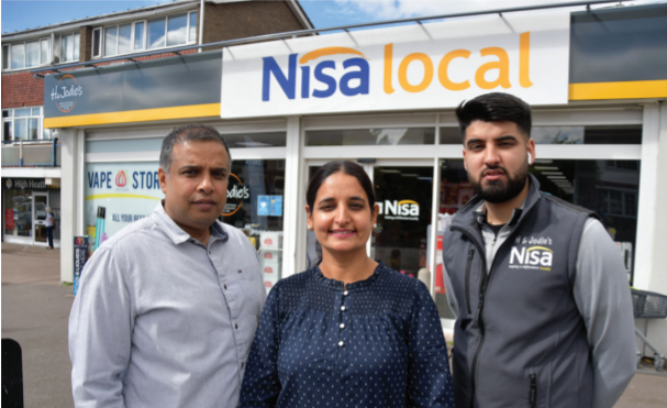 Amrit Singh, Nisa Local High Heath in Walsall