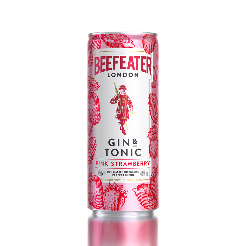 Pernod Ricard UK launches three Beefeater RTD cans