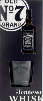 Jack Daniel's 5cl and Tumbler