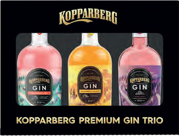Kopparberg Gin Trio